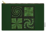 Square Crop Circles Quad Carry-all Pouch