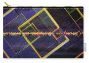 Square Fractals Carry-all Pouch