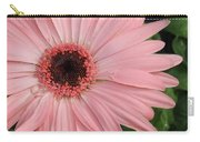 Square Framed Pink Daisy Carry-all Pouch