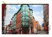 Square In Old Boston Carry-all Pouch by Elena Elisseeva