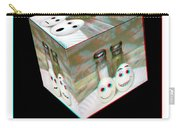 Square Meal - Use Red-cyan 3d Glasses Carry-all Pouch