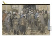 Square Saint Pierre At Sunset Paris, May 1887 Vincent Van Gogh 1853  1890 Carry-all Pouch