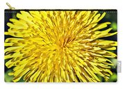 Square Yellow Dandelion Carry-all Pouch