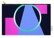 Squares Subsumed By Cirle Carry-all Pouch