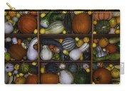 Squash And Gourds In Compartments Carry-all Pouch