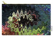 Squash Beans And Peppers Abstract Carry-all Pouch