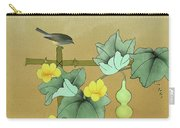 Squash Vine And Bamboo Carry-all Pouch