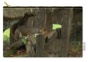 Squatting Squirrel Carry-all Pouch