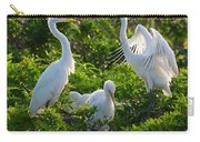 Squawk Of The Great Egret Carry-all Pouch