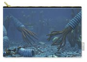 Squid-like Orthoceratites Attempt Carry-all Pouch by Walter Myers