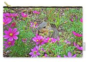 Squirrel Among Coreopsis In Huntington Gardens In San Marino-california   Carry-all Pouch