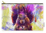 Squirrel Animals Possierlich Nager  Carry-all Pouch