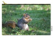 Squirrel Eating A Nut - Eugene Oregon Carry-all Pouch