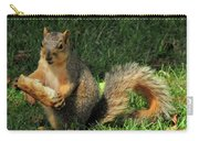 Squirrel Eating Pizza Carry-all Pouch