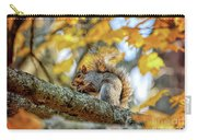 Squirrel In Autumn Carry-all Pouch