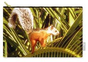Squirrel In Palm Tree Carry-all Pouch