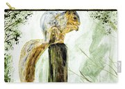 Squirrel Painting Carry-all Pouch