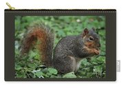 Squirrel Portrait # 6 Carry-all Pouch