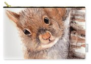 Squirrel Carry-all Pouch