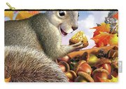 Squirrel Treasure Carry-all Pouch