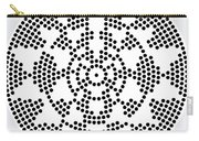 Sri Dots Carry-all Pouch by Robert Thalmeier