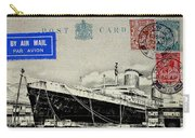 Ss United States - Post Card Carry-all Pouch