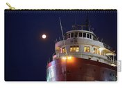 Ss William A Irvin At Night Carry-all Pouch
