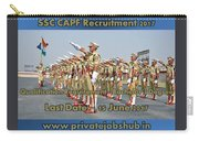 Ssc Capf Recruitment Carry-all Pouch