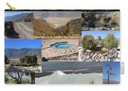 Saline Valley Collage Carry-all Pouch