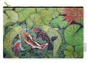 Summer Pond At Lunchtime Carry-all Pouch