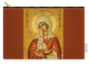 St. Agnes - Jcagn Carry-all Pouch