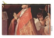 St Andrew Corsini In Prayer 1635 Carry-all Pouch