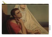St Augustine And His Mother St Monica Carry-all Pouch