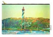 St Augustine Lighthouse Waterscaped Carry-all Pouch