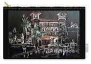 St Augustine Lightner Museum Nights Of Lights Carry-all Pouch