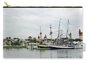 St Augustine Marina From The Water Carry-all Pouch