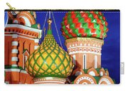 St Basils Cathedral In Moscow Russia Carry-all Pouch