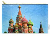 St. Basil's Cathedral Moscow Carry-all Pouch