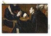 St Benedict Blesses The Bread Carry-all Pouch