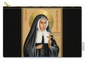 St. Bernadette Of Lourdes - Jcbsl Carry-all Pouch