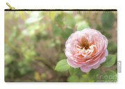 St. Cecilia Shrub Rose, Pink Rose Originally Produced By The Br Carry-all Pouch