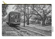 St. Charles Streetcar Monochrome Carry-all Pouch