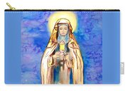 St. Clare Of Assisi Carry-all Pouch