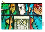 St. Edmond's Church Stained Glass Window - Rehoboth Beach Delaware Carry-all Pouch