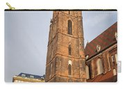 St. Elizabeth's Church Tower In Wroclaw Carry-all Pouch