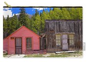 St. Elmo Pink House And Barn Carry-all Pouch