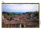St. Emilion View Carry-all Pouch by Joan  Minchak