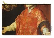 St Filippo Neri In Ecstasy 1614 Carry-all Pouch