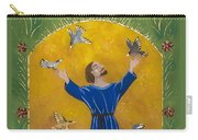 St. Francis And Birds Carry-all Pouch