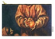 St Francis And Brother Rufus 1606 Carry-all Pouch